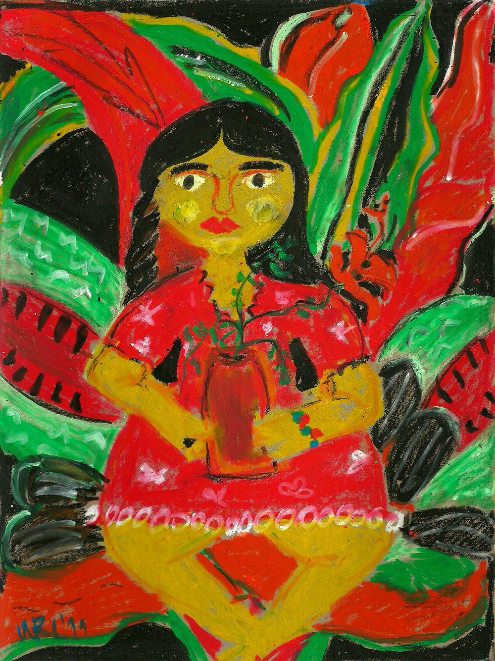 Costa Rican Woman.