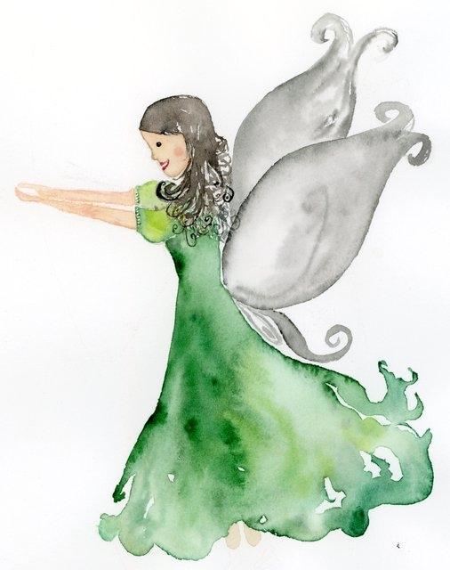 Cvetlična vilinka / Fairy.