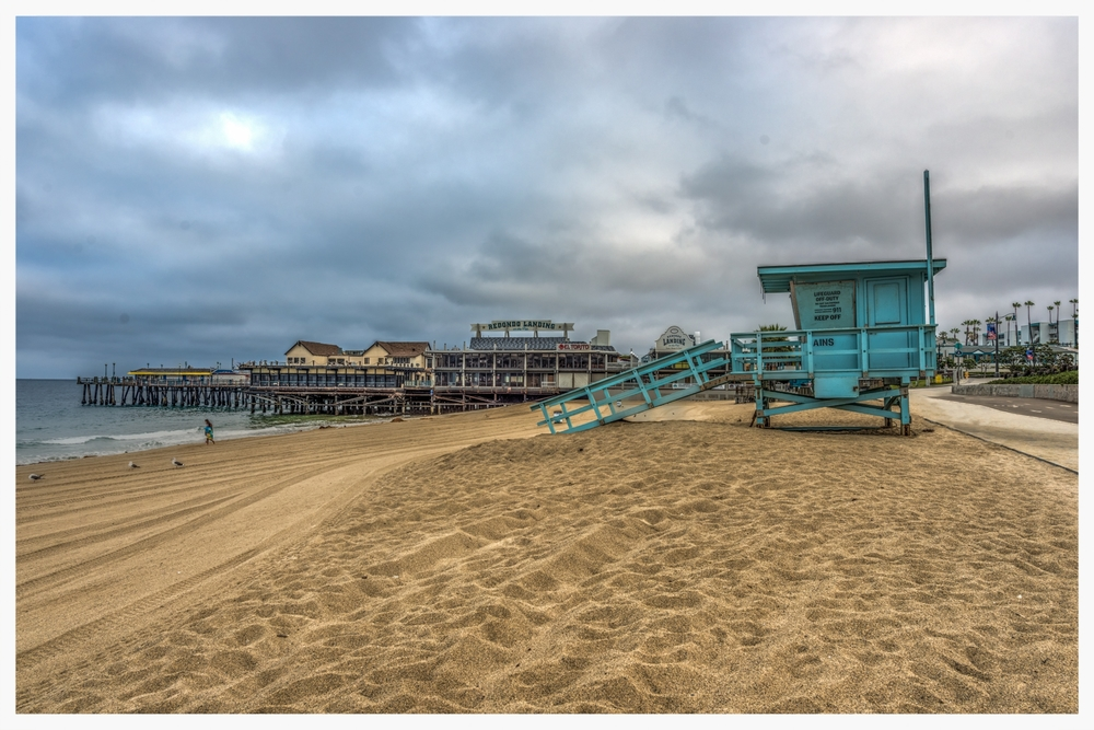 Redondo Beach Lifeguard Shack