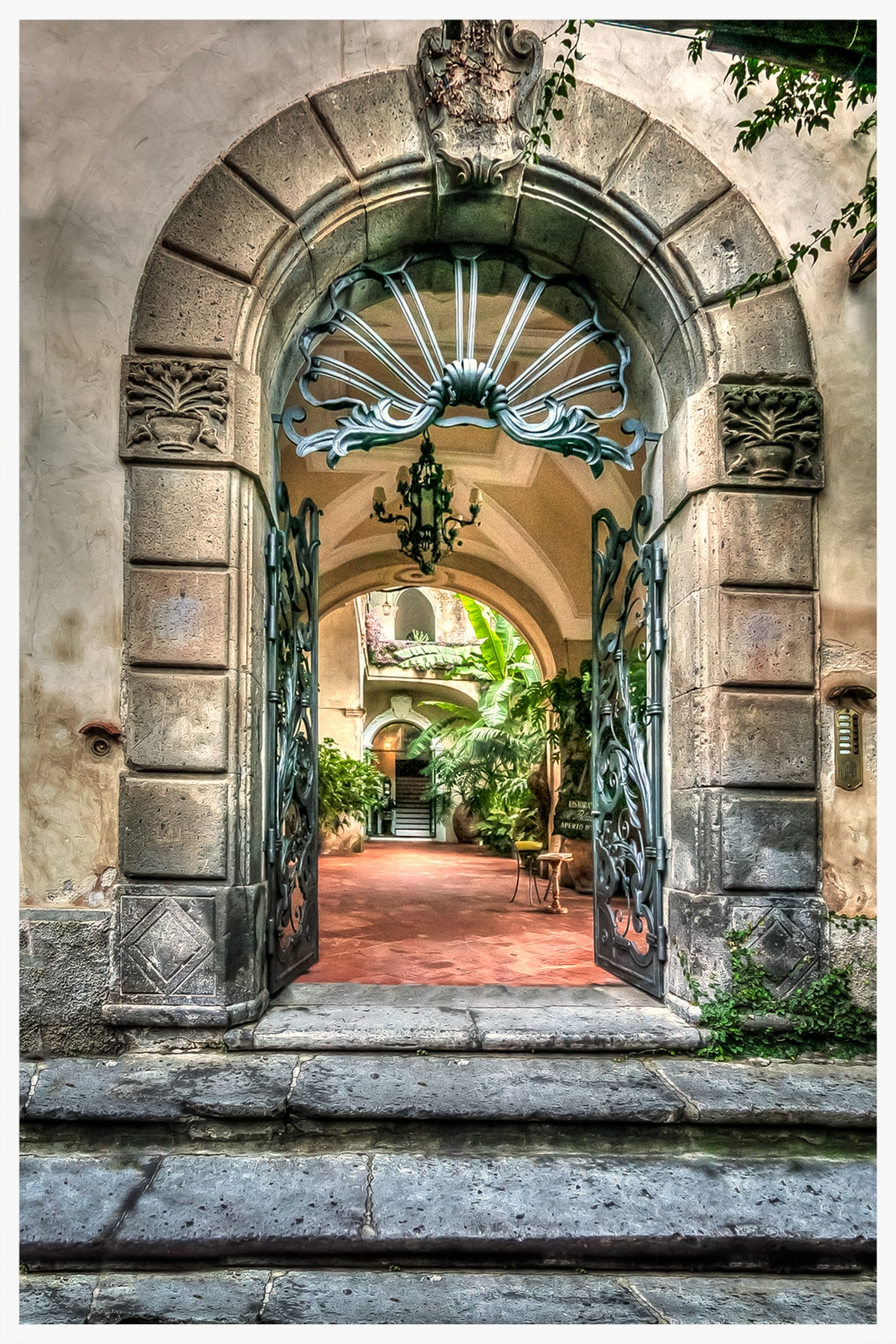 Amalfi Coast Doorway