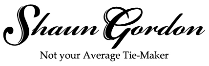Shaun Gordon | Not Your Average Tie Maker