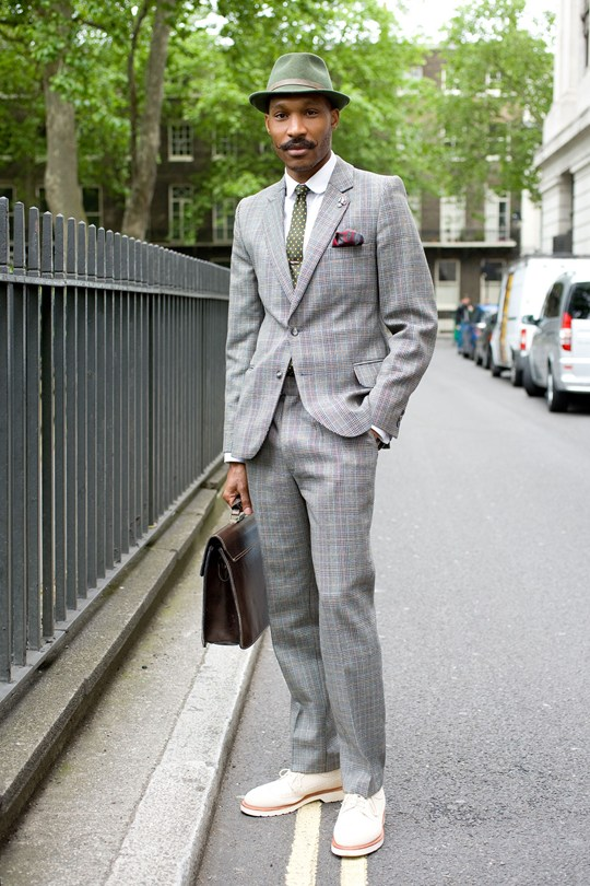Shaun Gordon in GQ.com for London Collection: Mens