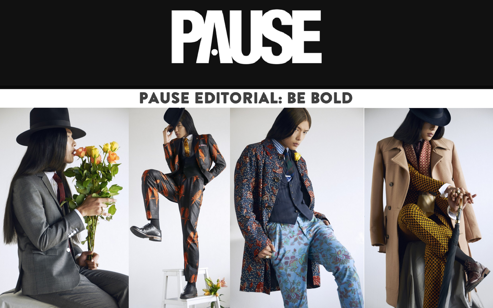 Shaun Gordon Styling Collaboration with PAUSE Magazine