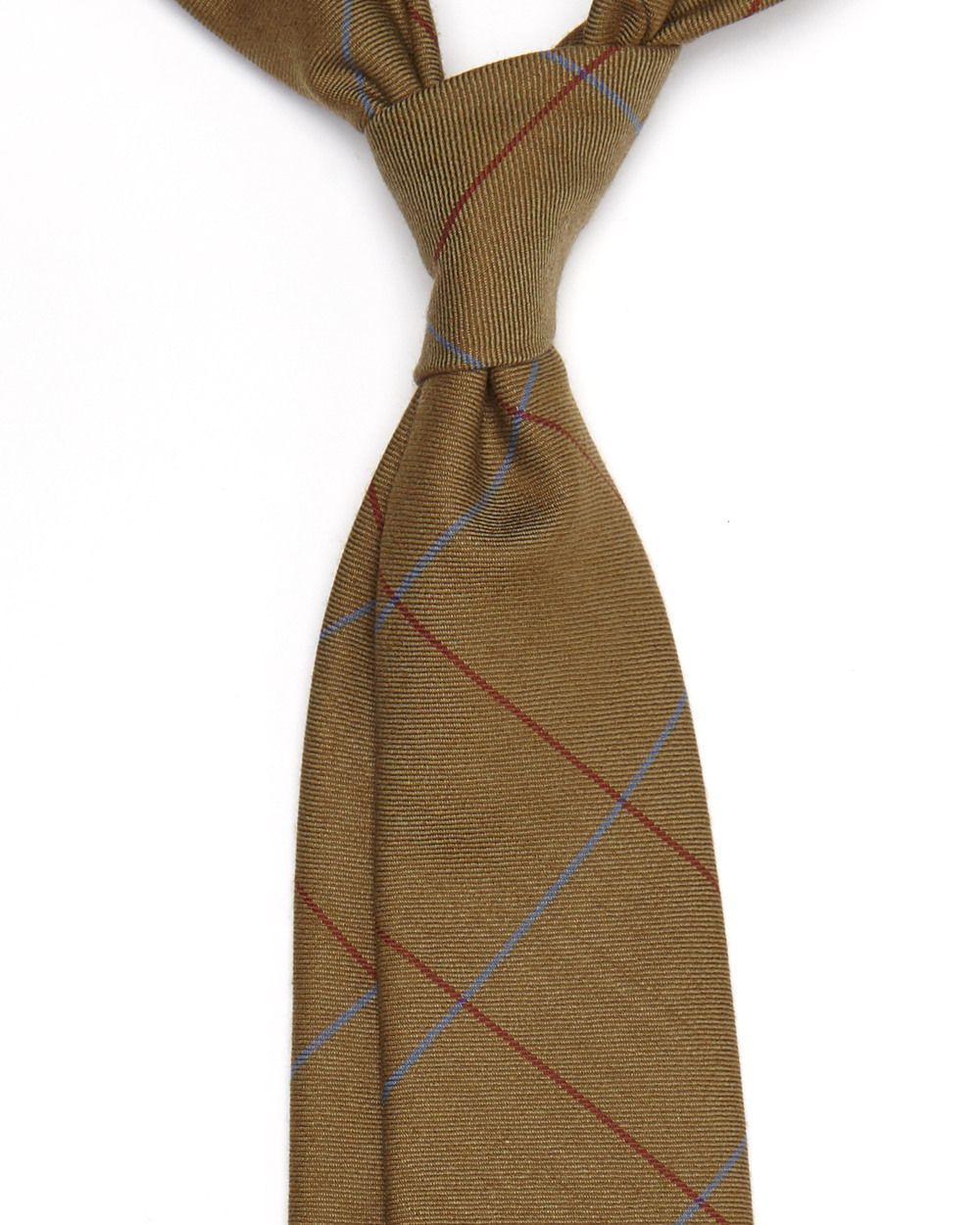 Taylor Tie | Wool Solway Window Pane | 7 Exclusive Hand  Made Ties Available - £98.00