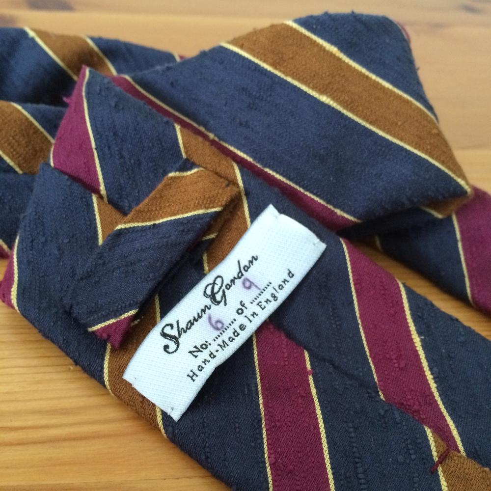 Shaun Gordon Leonard tie