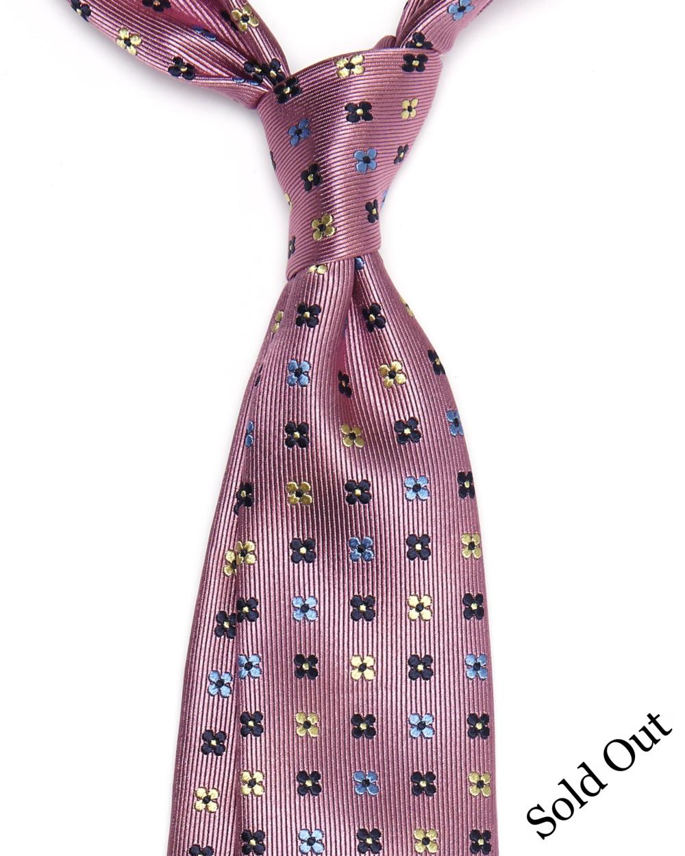 Alastair Tie |Silk Floral Pattern | 4 ExclusiveHandMade Ties Available- £98.00