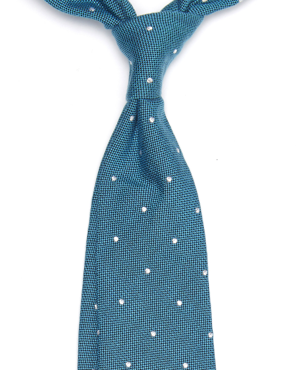 Montague  Tie | Silk Jacquard Polka dots | 8 Exclusive Hand  Made Ties Available - £98.00
