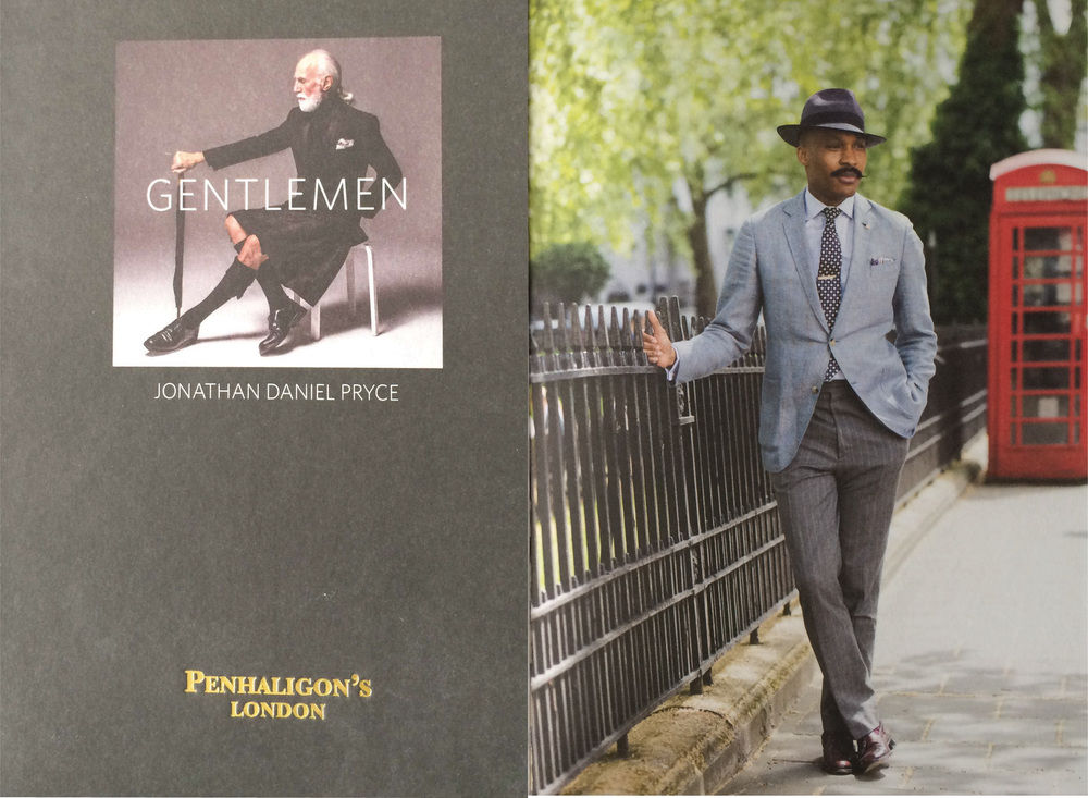 Gentlemen Book Publication by Jonathan D Pryce & Penhaligon.