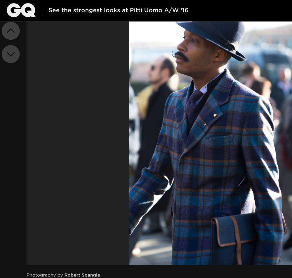 GQ - The Strongest Looks at Pitti Uomo 89 / AW16