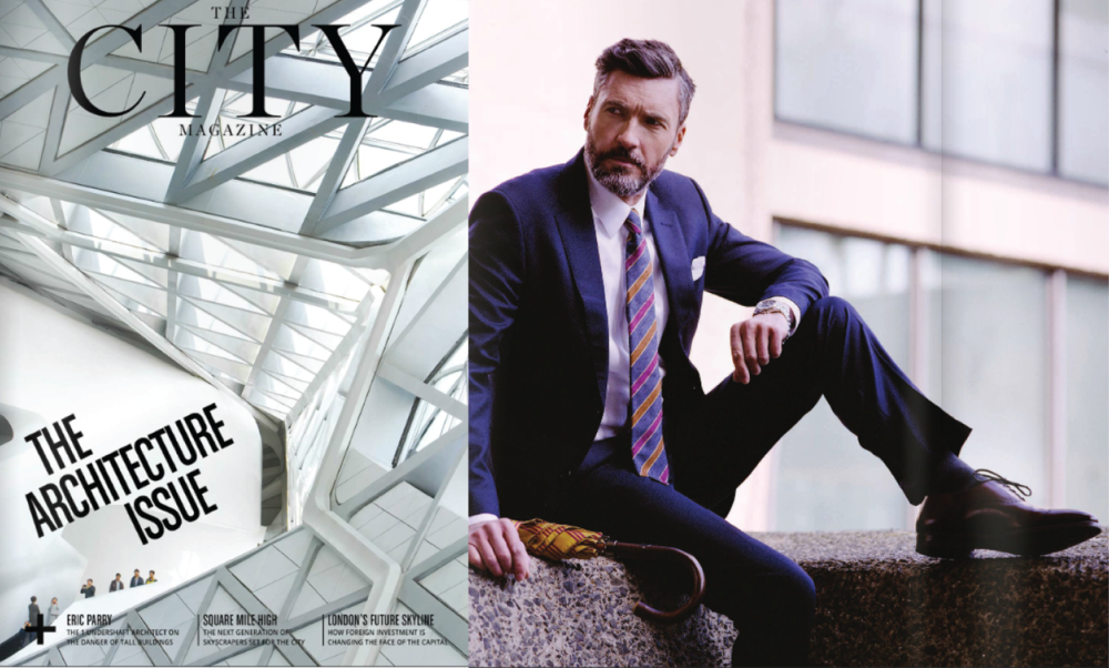 Shaun Gordon Leonard Tie Features in The City Magazine, June 2016