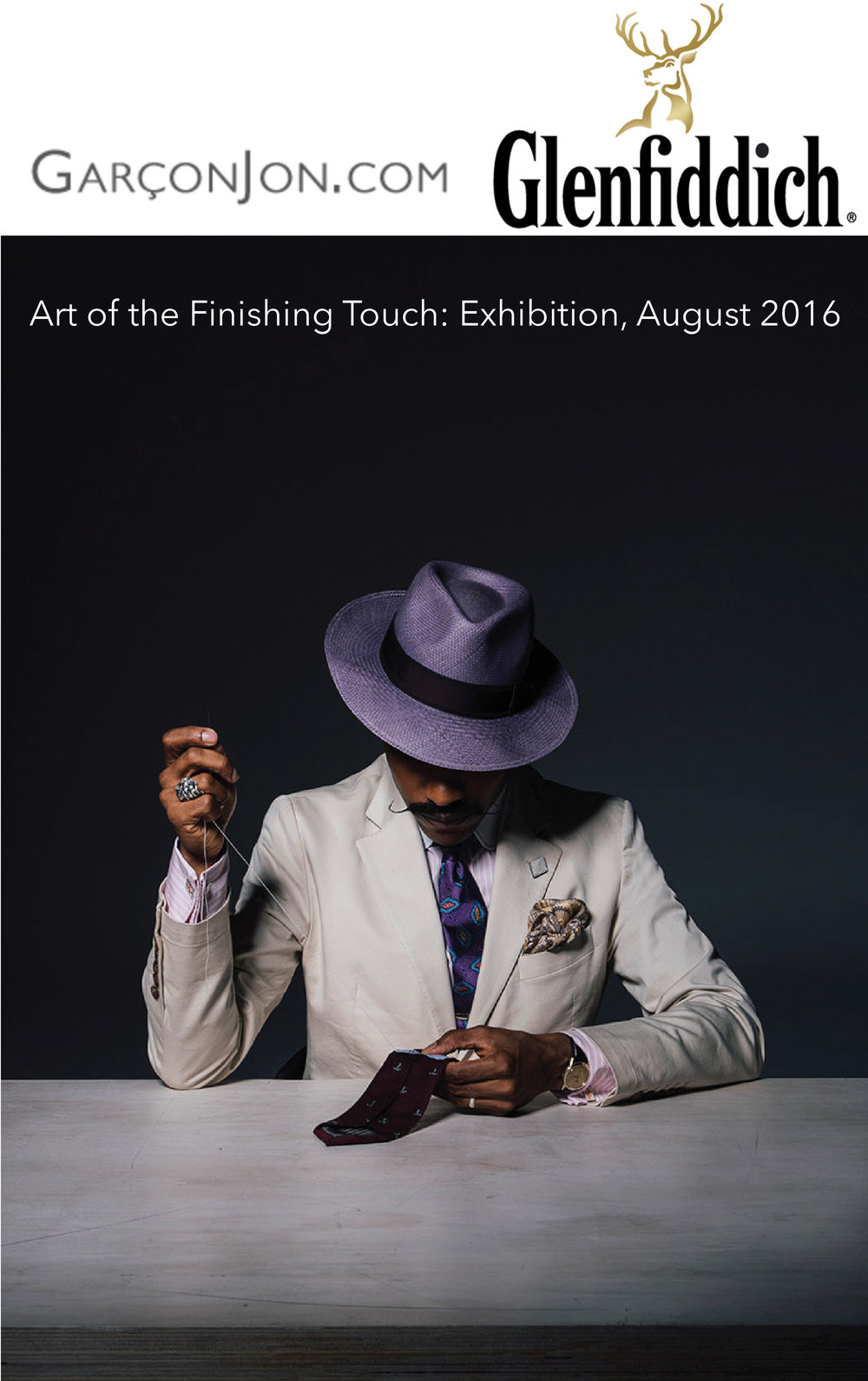 Shaun Gordon featured in Art Of The Finishing Touch Exhibition by GarconJon. Aug 2016.
