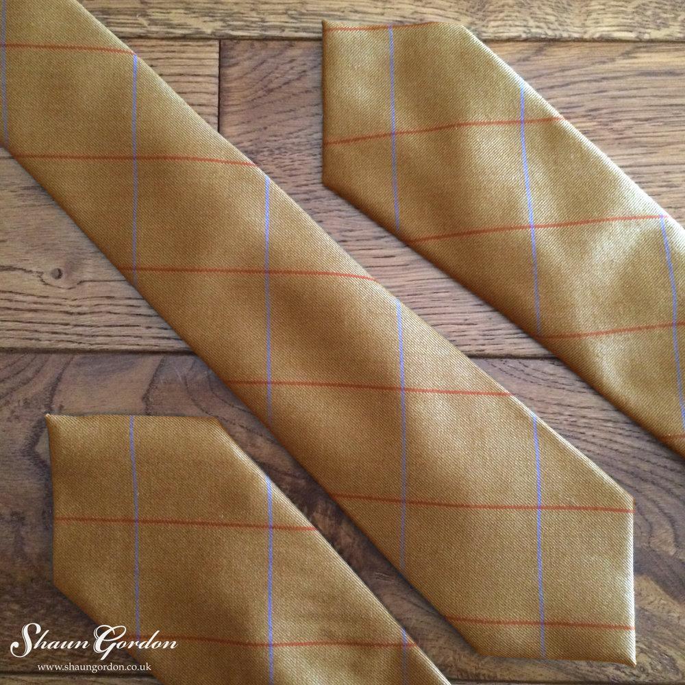 Shaun Gordon Taylor wool tie