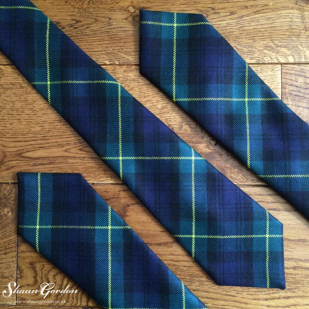 Shaun-Gordon-Gordon-Tartan-Tie