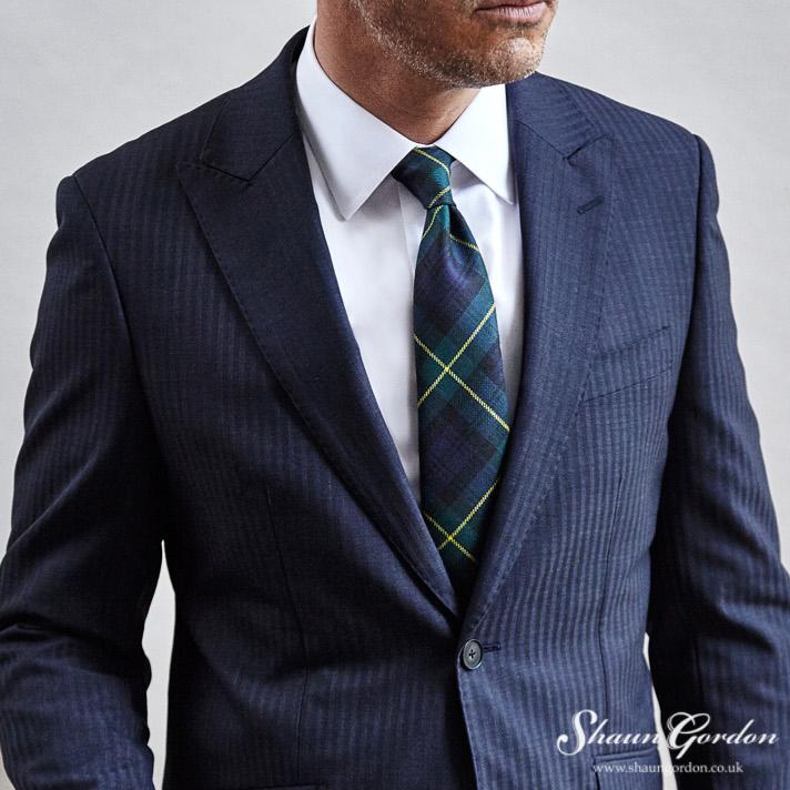 Shaun Gordon_gordon tartan tie style.