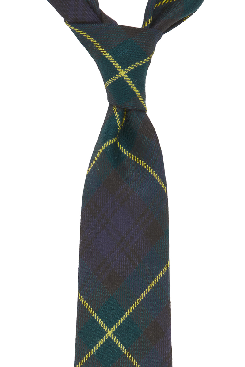The Gordon Tartan tie is made from 100% wool and the fabric was purchased while I was on holiday in Scotland! To read more on this story click here! Due the the colours of the Tartan pattern it makes this tie very versatile to wear with almost anything and looking stylish at the same time.