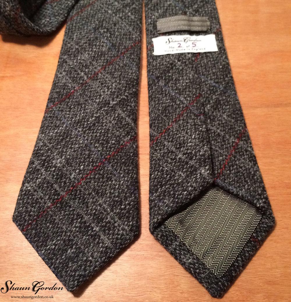 Shaun Gordon Oliver Wool Tie