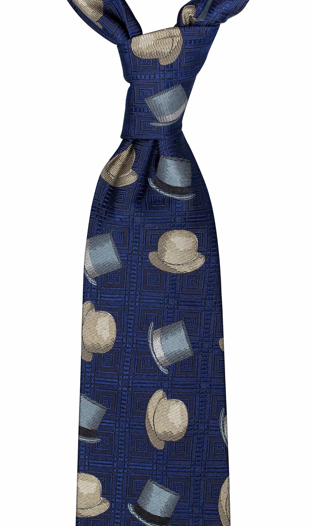 The Mad Hatter Tie. If you are looking for a tie with a classical twist then look no further than this one! Especially if you or the person you are buying this for loves hats! Click on image for more information.