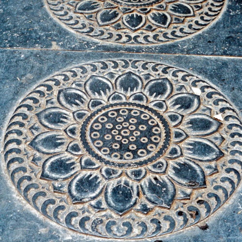 Flooring detail.