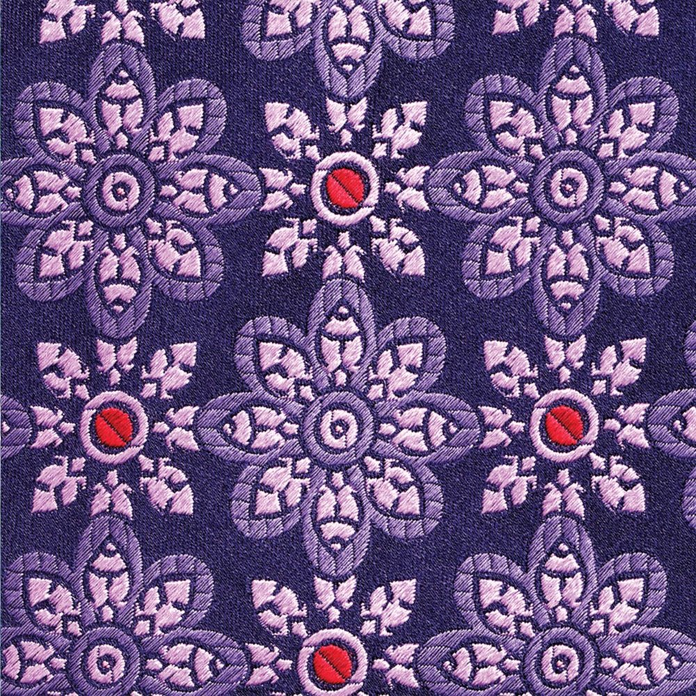 William medallion ties fabric