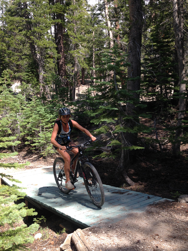 Needless to say, the first few days in the Sierras were spent mountain biking in Mammoth Lakes, CA.