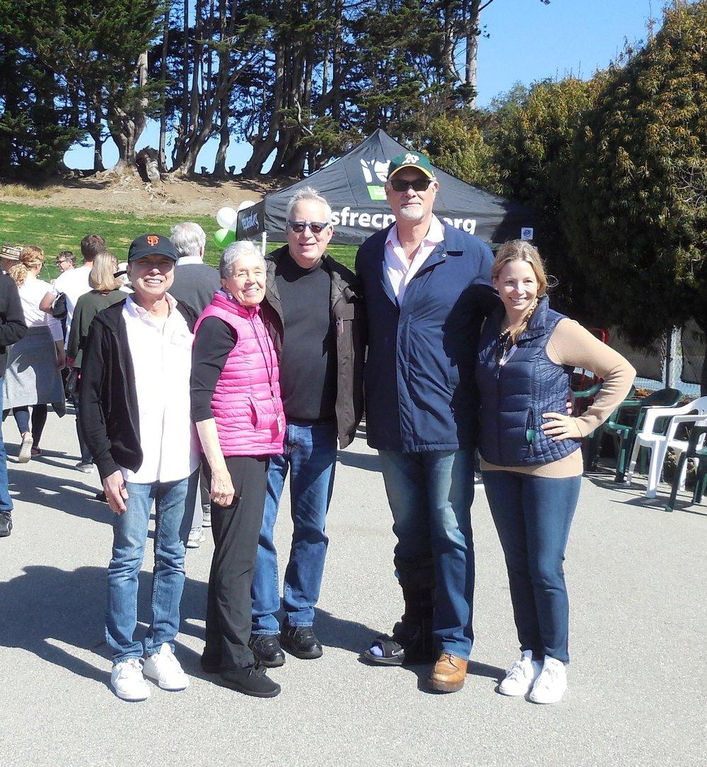 Friends of Alta Plaza Park Board Members