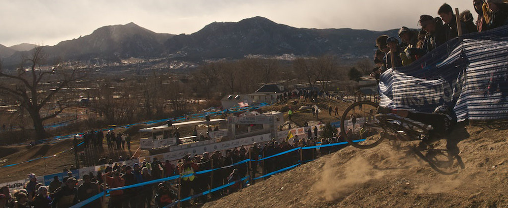 Crashing like a champ at the the 2014 Cyclocross Nationals