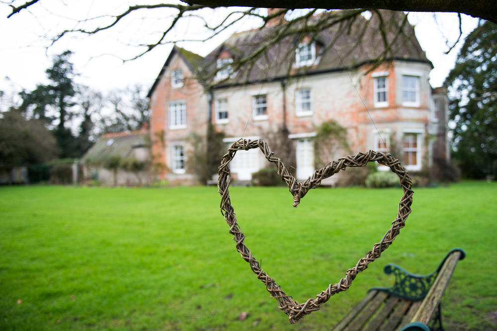 The heart is by our wonderful village willow weaver lynne@lynnesaunders.co.uk
