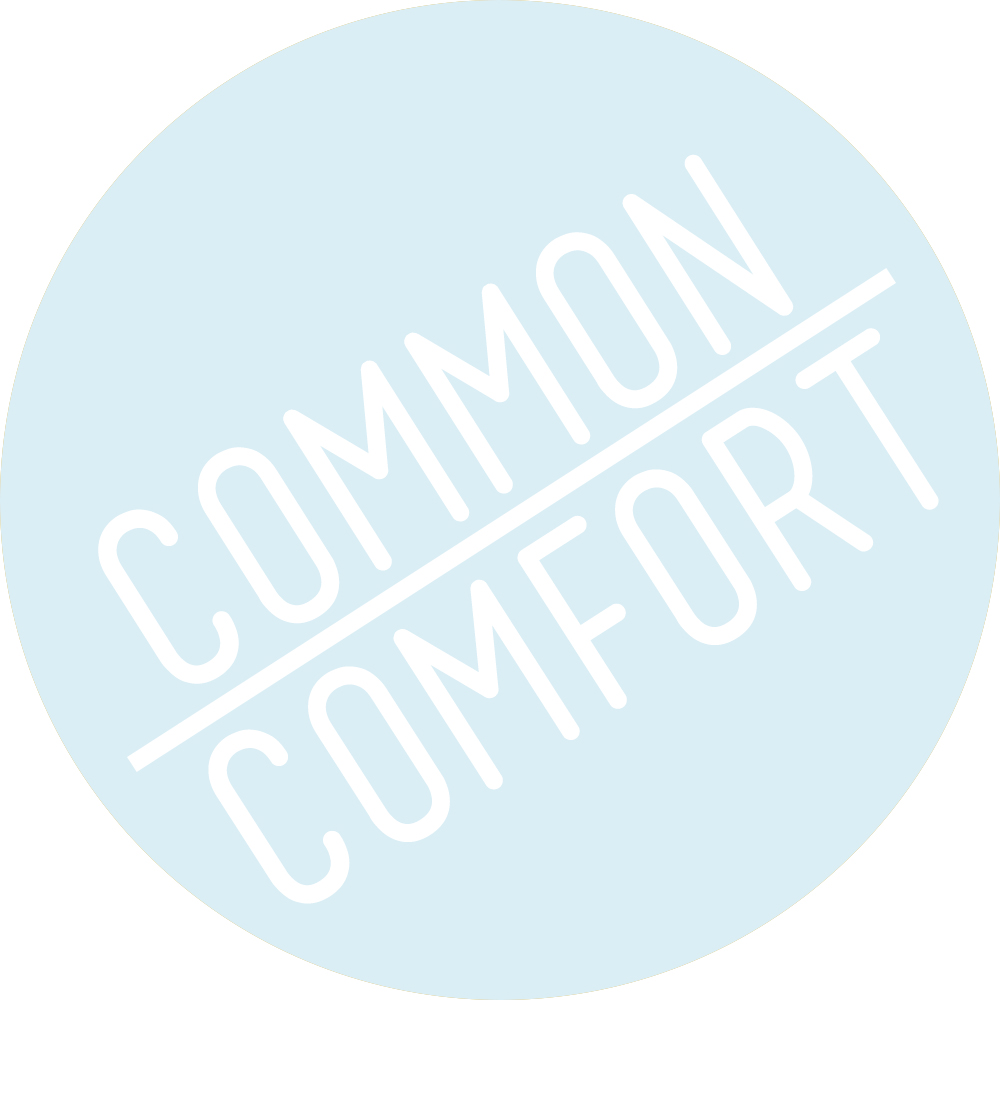 common comfort / food, design, and all things in-between