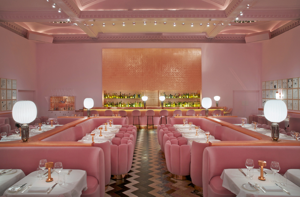 sketch restaurant,  london