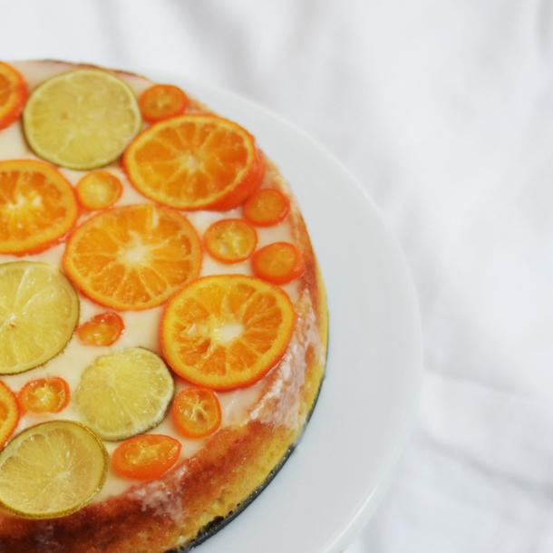 almond clementine cake - gluten free, dairy free