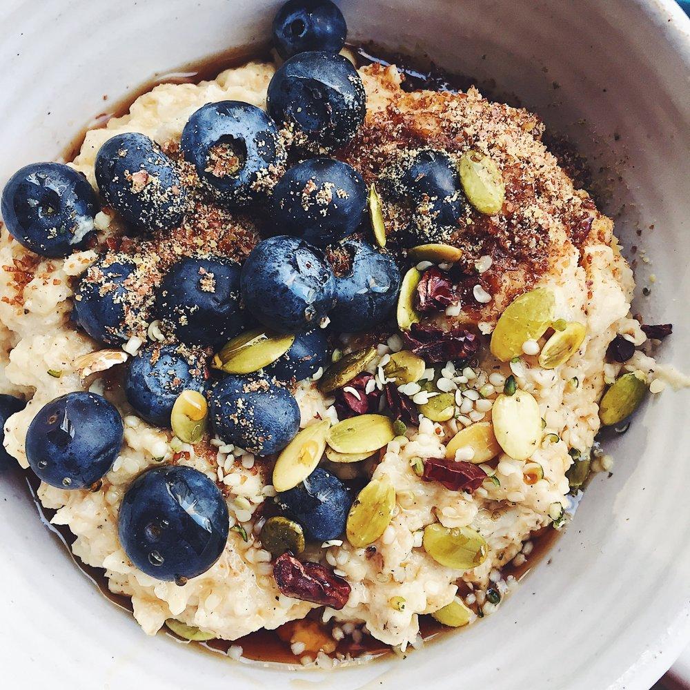 overnight oats - gluten free