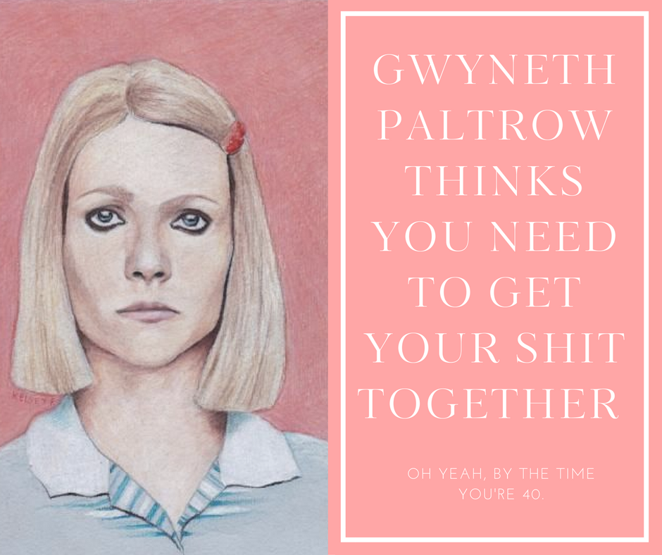 Trying to find the attribution for this gorge illustration of GOOP as Margot Tannenbaum. If I can't find it will take it down.