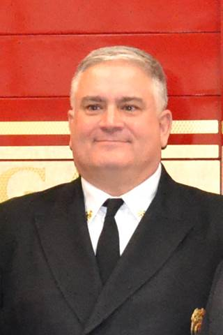 Fire Chief, John Begovich