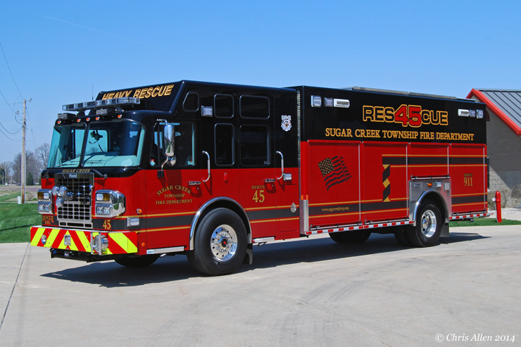 Firehouse 45 Apparatus
