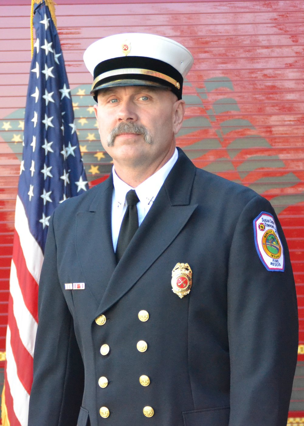 Battalion Chief Charles Brown -A-