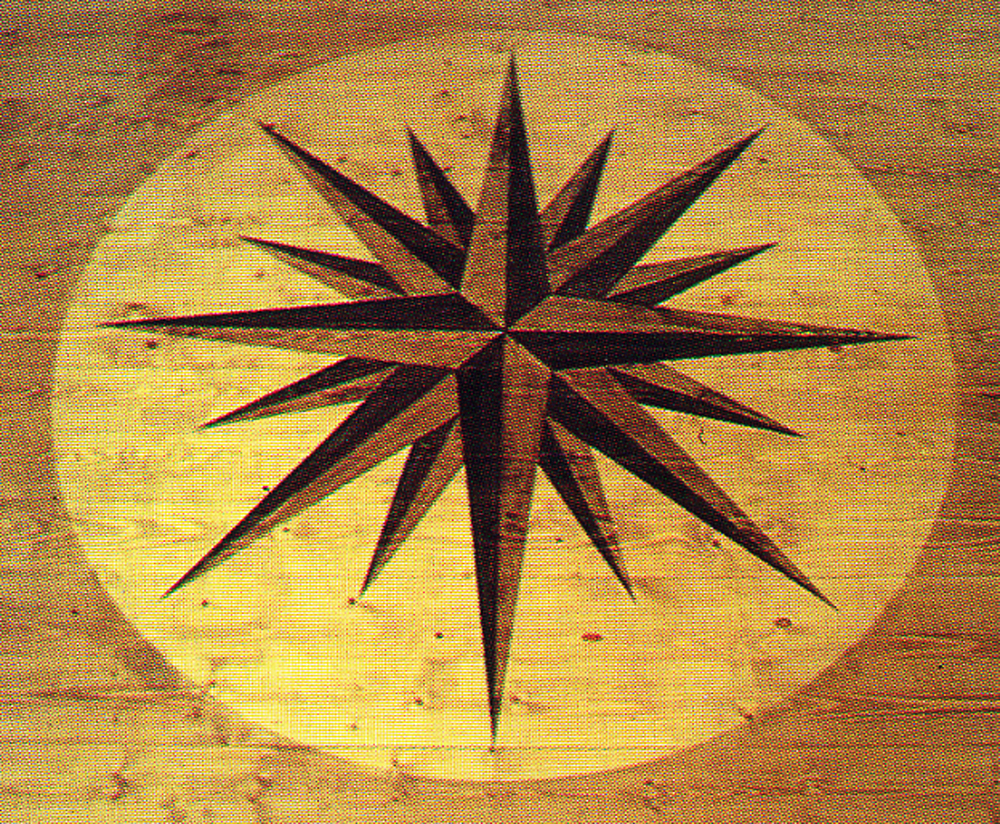 Star Pattern Floor
