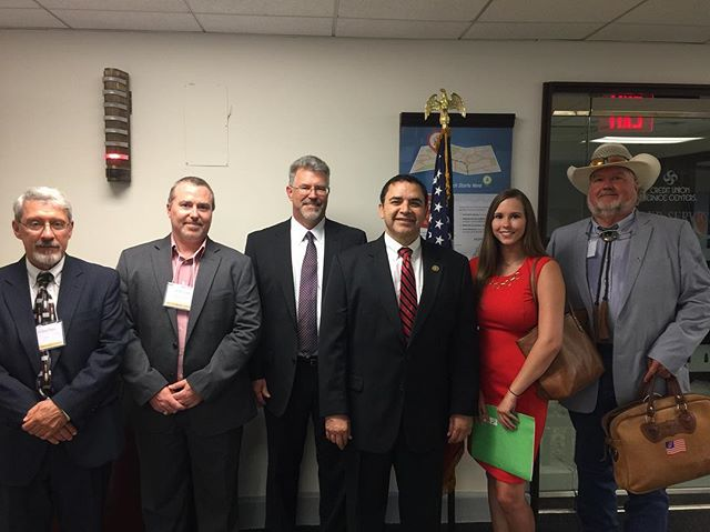 #TBT to our 1st Annual Fly-In with SFC members with original cosponsor Congressman Henry Cuellar. Sign up today for our Fly-In on April 24-26 #SFC #HR1360
