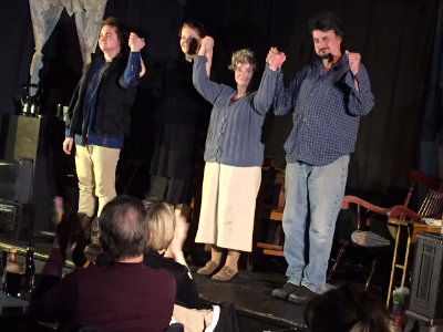 The Beauty Queen of Leenane by Martin McDonagh, The Burren, Somerville, MA, 1 June 2015