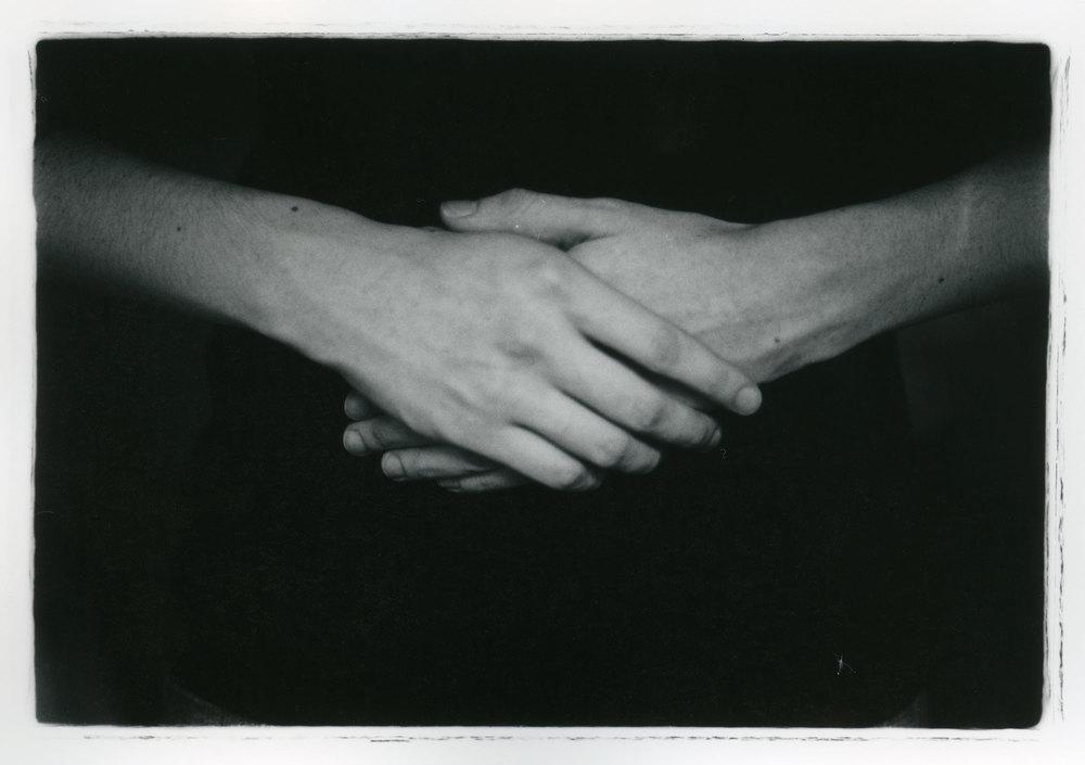 Afternoon Hands    Silver Gelatin Print, 2014