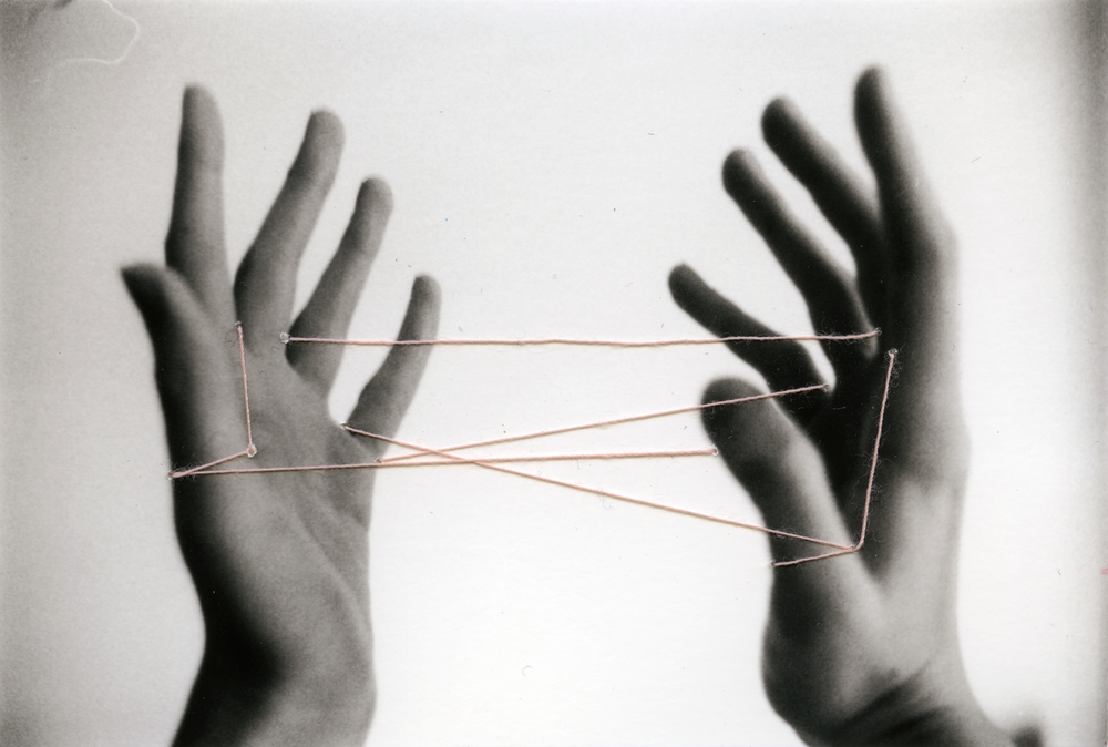 Cradle    Silver Gelatin Print, Thread, 2014