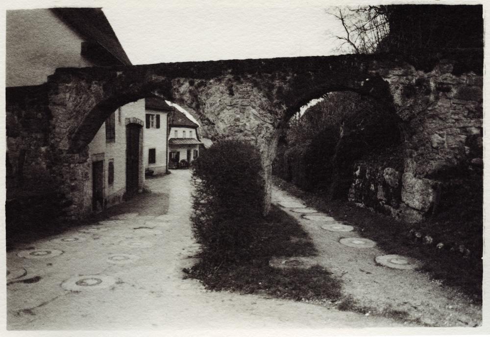 Arch    Silver Gelatin Print, Switzerland, 2014