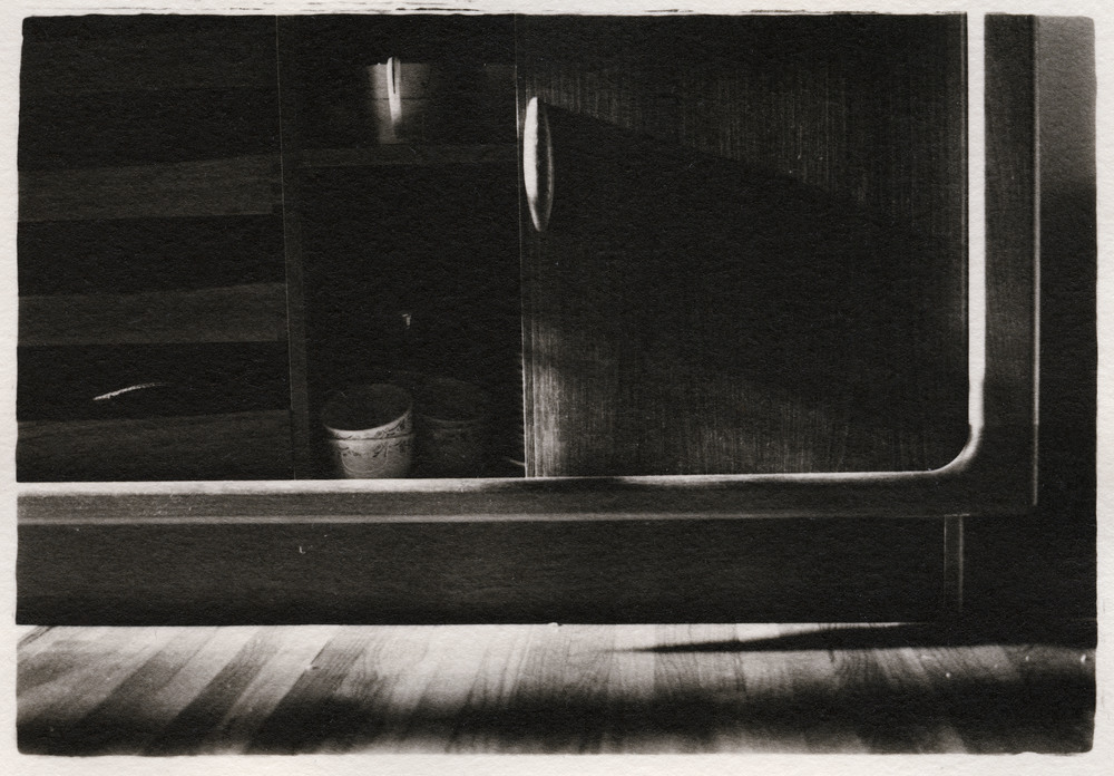 China Cabinet     Silver Gelatin Print, New Jersey, 2015