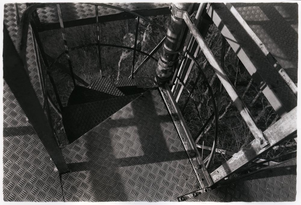 Stairway    Silver Gelatin Print, Switzerland, 2014