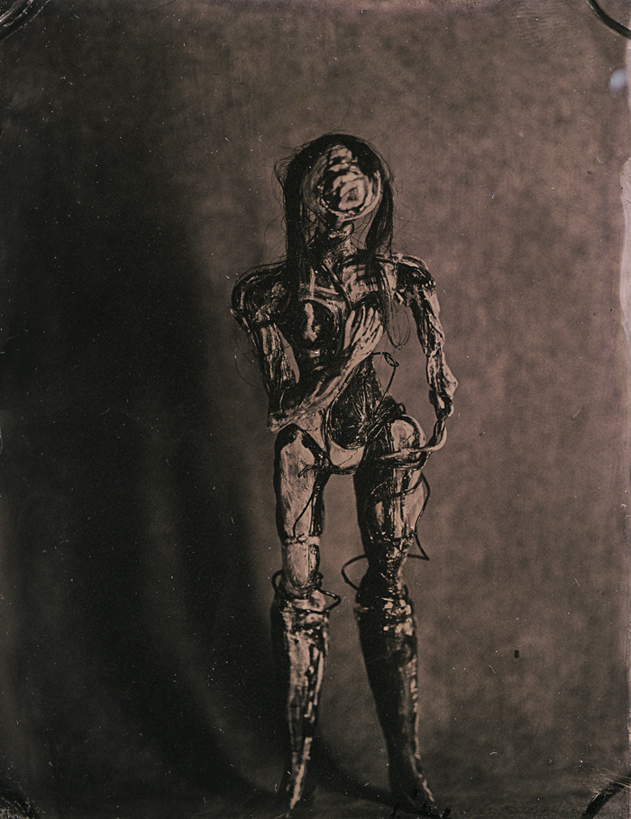 Visitor Unknown , 2017   Wet Plate (Tintype)