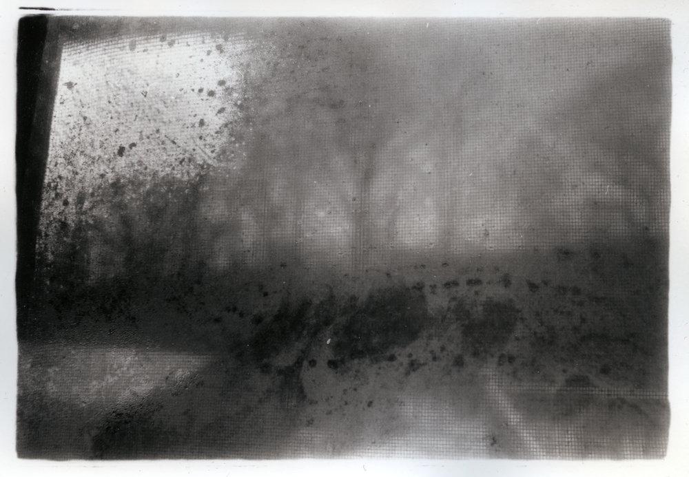 Fogged Window    Silver Gelatin Print, NJ, 2015