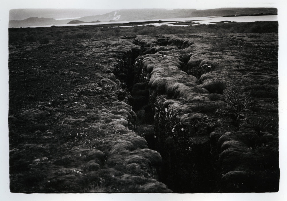 The Plates    Silver Gelatin Print, Iceland, 2015