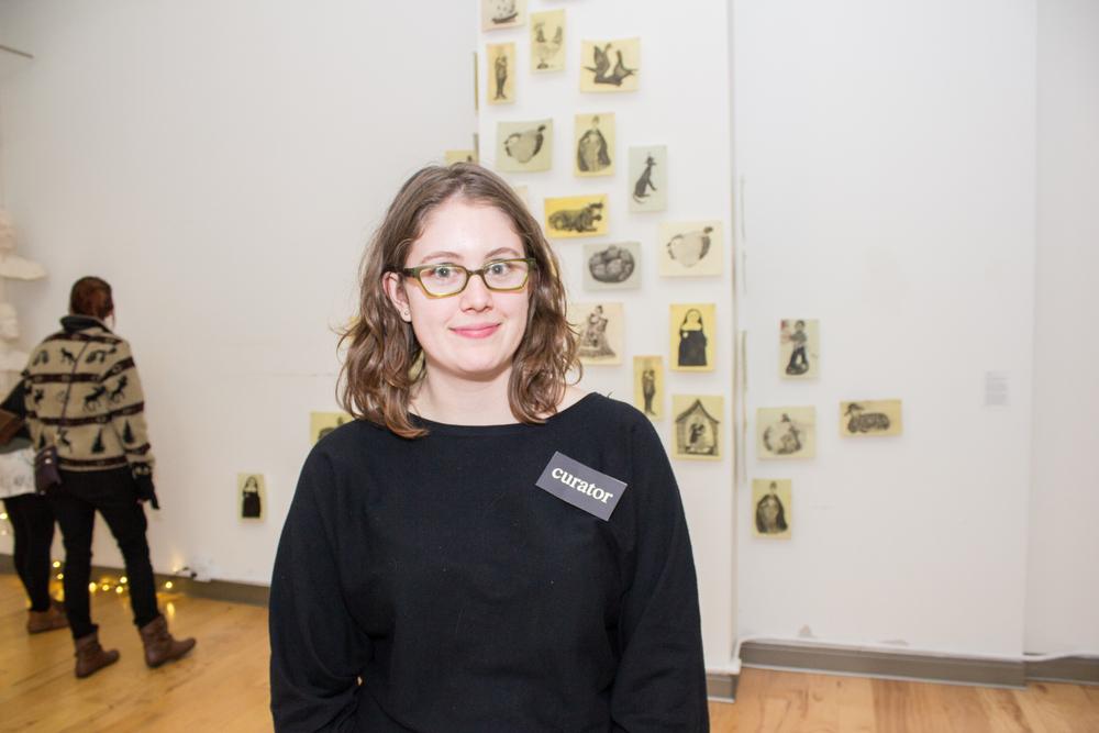 Kate Garman the curator who found me!
