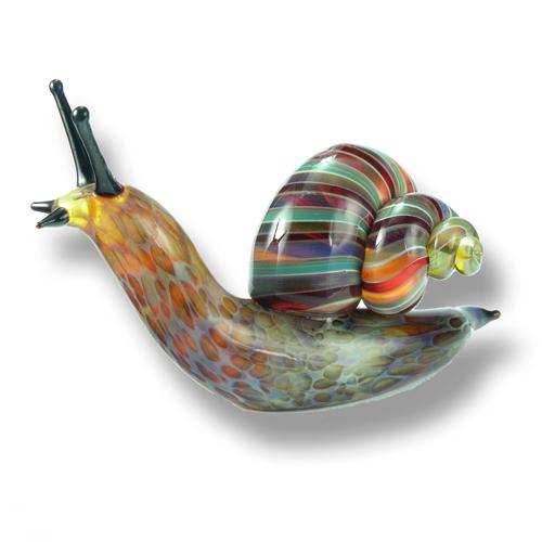 sculptd glass snails