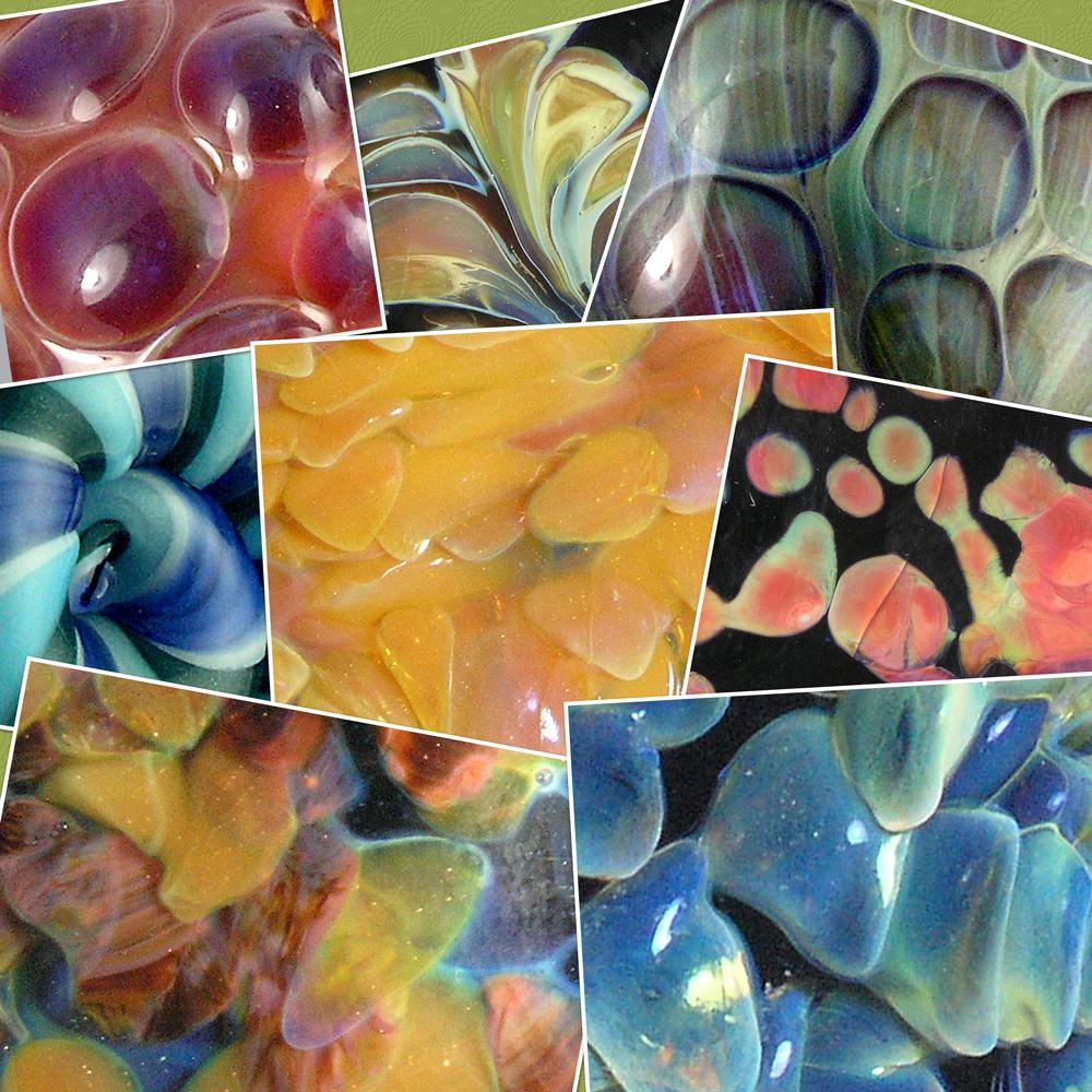 Borosilicate glass colors