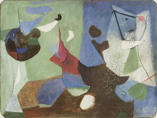 James Brooks Paintings and Works on Paper 1945–1949 March 5 - April 25, 2014